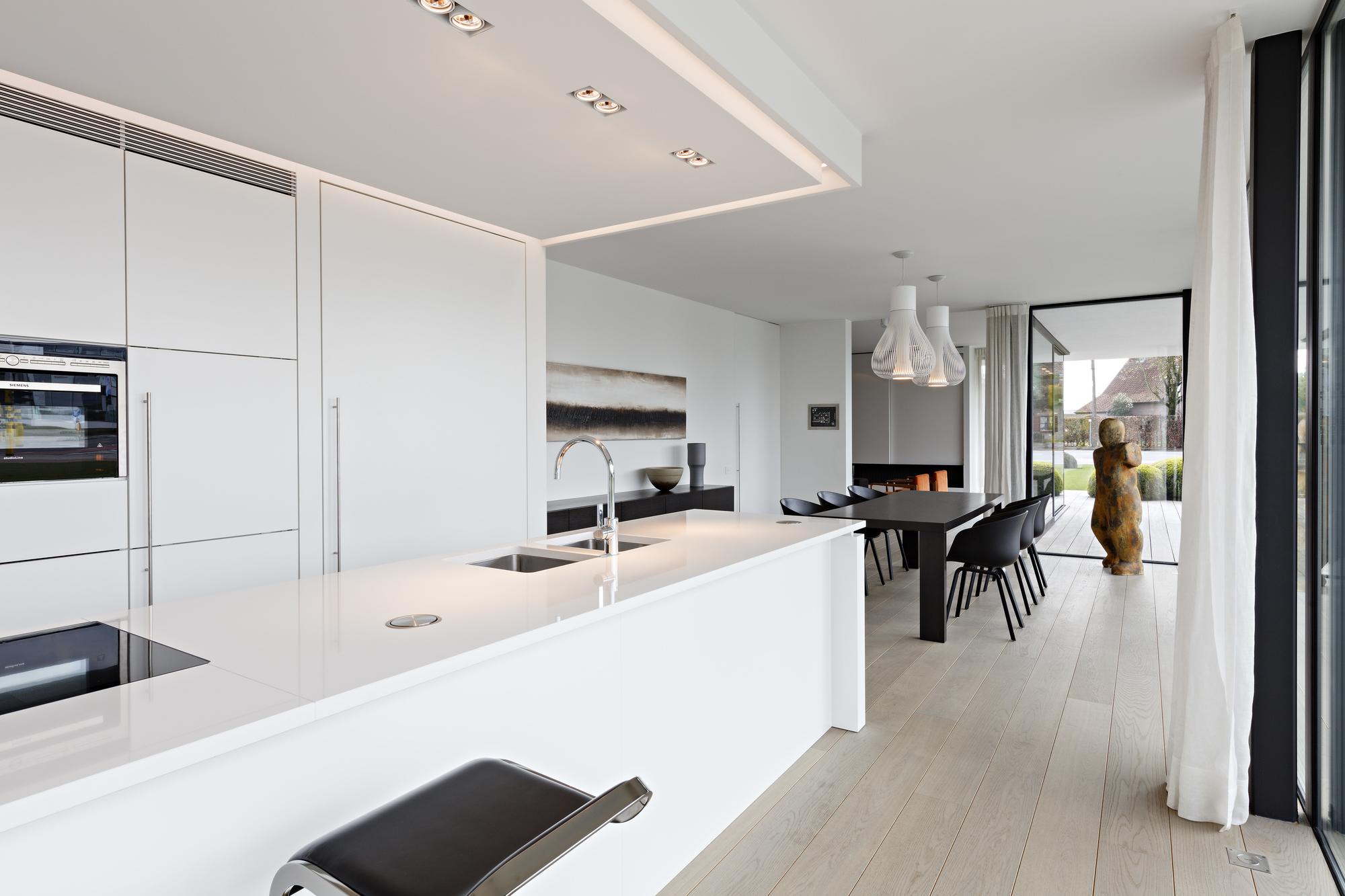 Witte Laminaat Keuken : Ontdek uw keuken en interieur trybou keukens